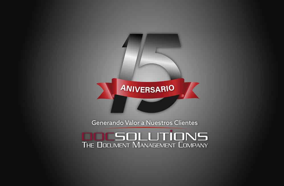 <b>DocSolutions</b> celebrates 15 years of experience
